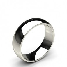 Low Dome Comfort Fit Classic Plain Wedding Band - HG0660_P9