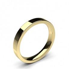 Flat Profile Comfort Fit Classic Plain Wedding Band - HG0655_A5