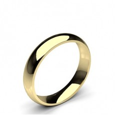 Men's Yellow Gold Wedding Rings & Bands