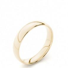 Court Profile Comfort Fit Classic Plain Wedding Band - HG0653_24