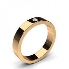Rose Gold Women's Wedding Bands