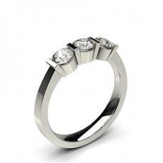 Drei Diamanten in einer Balkenfassung - CLRN244_01