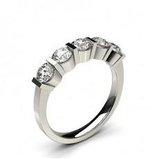 Fünf Diamanten in einer Balkenfassung - CLRN252_01