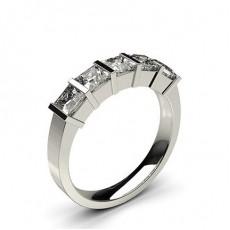 Fünf Diamanten in einer Balkenfassung - CLRN253_01
