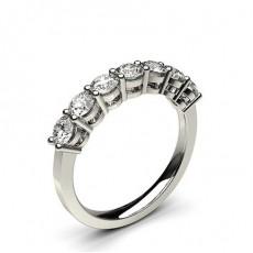 Bague 7 pierres diamant rond serti 4 griffes - CLRN256_02