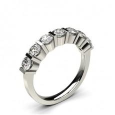 Rond 7 Pierres Bague Diamant