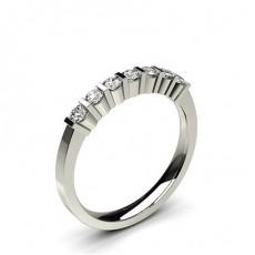 Sieben Diamanten in einer Balkenfassung - CLRN259_02