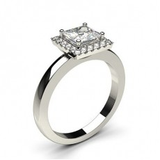 Multi Diamant Verlobungsring in einer Krappenfassung  - CLRN336_01