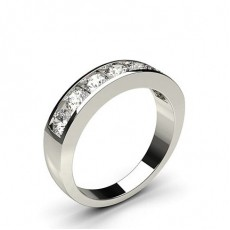 Channel Setting Plain Seven Stone Ring - CLRN340_02