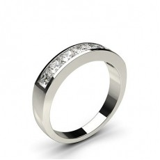Channel Setting Plain Seven Stone Ring - CLRN340_01