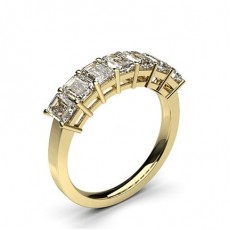 Yellow Gold Anniversary Diamond Rings