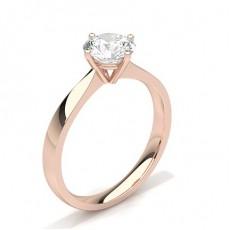 White Gold Round Diamond Engagement Ring - CLRN348_01