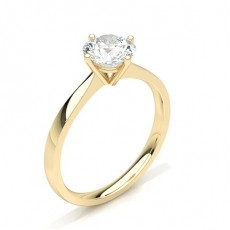 Yellow Gold Diamond Engagement Rings