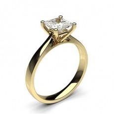 4 Prong Setting Plain Engagement Ring - HG0600_32