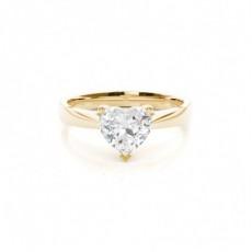 Diamantenring in einer Krappenfassung - CLRN349_01