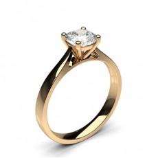 Bague de fiançailles solitaire diamant serti 4 griffes - CLRN349_01