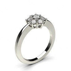 Bague 7 pierres diamant rond serti 6 griffes et 5 griffes - CLRN355_02