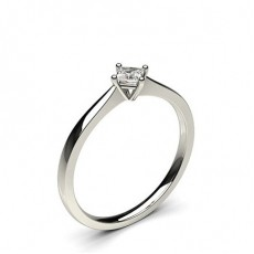 4 Prong Setting Plain Engagement Ring (Available from 0.10ct. to 0.20ct.)
