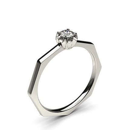 Diamant Ring in einer Illusionfassung