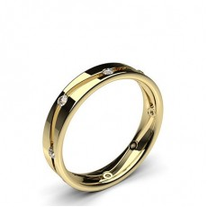 Yellow Gold Wedding Rings & Bands