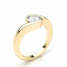 White Gold Diamond Engagement Ring - CLRN382_01