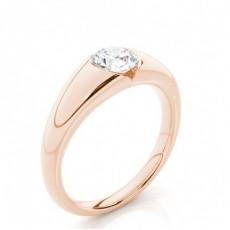 White Gold Diamond Engagement Ring - CLRN383_01
