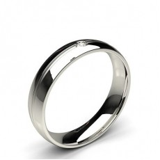 5.00mm Studded Comfort Fit Mens Wedding Band - CLRN417_01