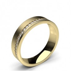 Studded Comfort Fit Mens Wedding Band - HG0666_A19