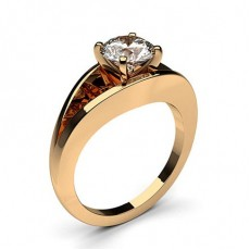 White Gold Diamond Engagement Ring - CLRN429_01