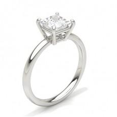 4 Prong Setting Plain Engagement Ring - CLRN431_01