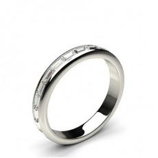 Channel Setting Full Eternity Diamond Ring - HG0623_P11
