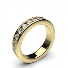 Channel Setting Full Eternity Diamond Ring - HG0625_27
