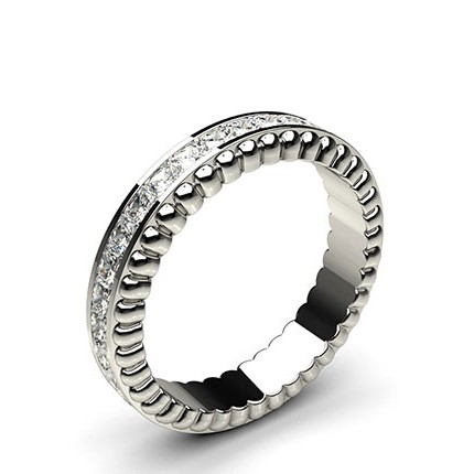 Buy 4 40mm Channel Setting Full Eternity Diamond Ring line UK