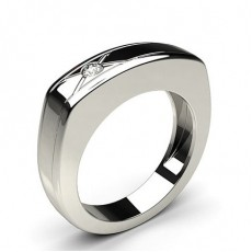 0.10ct. Full Bezel Setting Mens Ring - CLRN459_01