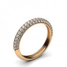 Diamant Halb Memoirering in einer Pavefassung - CLRN471_01