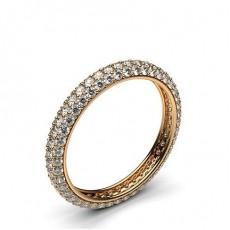 Alliance tour complet diamant rond serti pavé - CLRN471_02