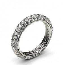 Pave Setting Full Eternity Diamond Ring - HG0560_P47