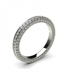 2.40mm Pave Setting Full Eternity Diamond Ring - CLRN473_01