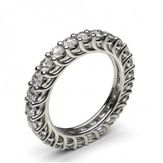 Prong Setting Full Eternity Diamond Ring - CLRN510_01