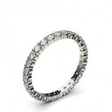 Prong Setting Full Eternity Diamond Ring - HG0672_P1