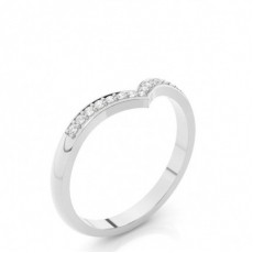 2.20mm Studded Flat Profile Diamond Shaped Band - CLRN525_01