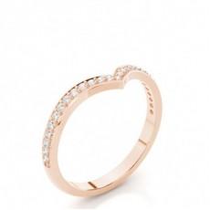 Alliance diamant en profil plat clouté rond serti pavé 2.2mm - CLRN525_04