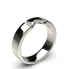 Round Women's Wedding Bands