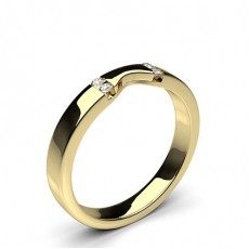 Women's Yellow Gold Diamond Wedding Rings