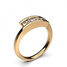 3 Diamanten Ring einfach in einer Kanalfassung - CLRN580_01