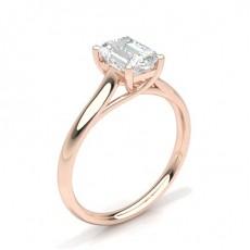 4 Krappen Schlichter Diamant Verlobungs Ring - CLRN582_01