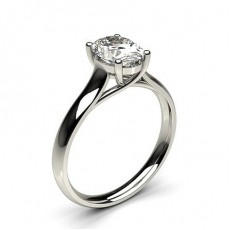 4 Prong Setting Plain Engagement Ring - CLRN582_02