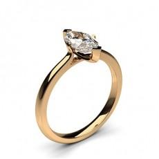 2 Prong Setting Plain Engagement Ring - CLRN583_01