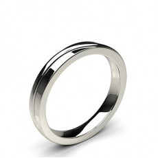 5.00mm Flat Profile Plain Shaped Wedding Band - CLRN590_06
