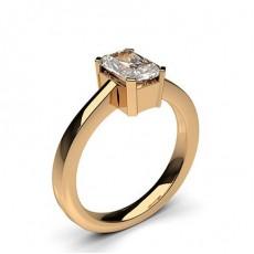 4 Prong Setting Plain Engagement Ring - CLRN596_01